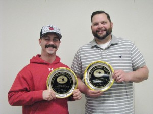 Jason McCarel  and Chris Nikkel - Regular Division Doubles Champs
